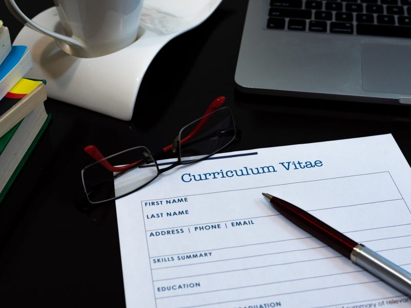 How do I write a CV in the Middle East?